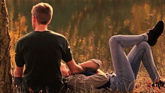 Hombre y mujer Leo en el amor