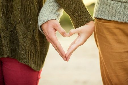 Hombre y mujer Tauro en el amor