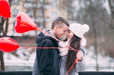 Hombre y mujer Virgo en el amor