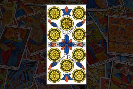 Significado de la carta del Tarot Ten of Diamonds