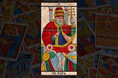 Significado de la carta El Papa al Tarot
