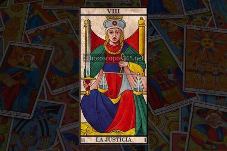 Significado de la tarjeta Justicia al Tarot